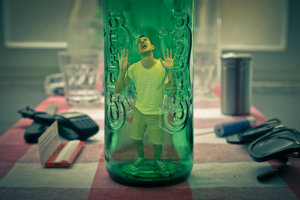 man_in_the_bottle_by_marconacid-d3icq45